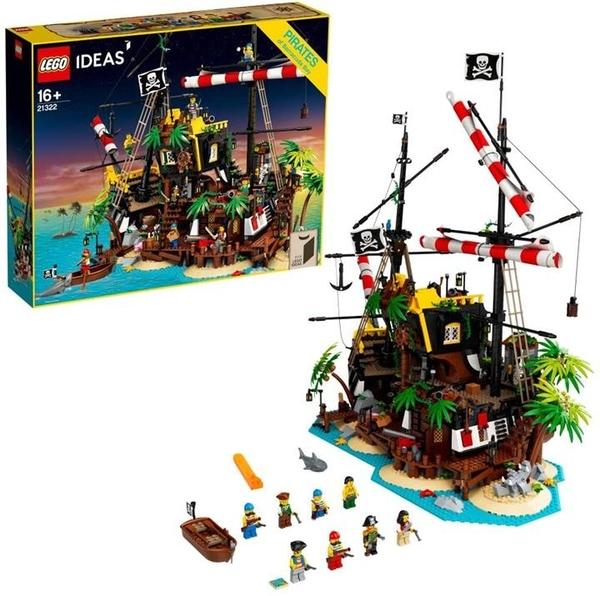 LEGO 樂高 21322梭子魚灣創意集