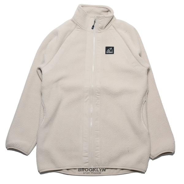 NEW BALANCE 外套 奶油色 版型偏大 羔羊毛 長版 保暖 休閒 (布魯克林) WJ13505TWF