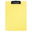 《享亮商城》66230 暖黃色 A4輕量防水板夾 ABEL