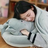 暖手抱枕 可愛貓午睡枕辦公室趴睡枕學生趴趴枕午休靠墊抱枕被子暖手小枕頭 快速出貨