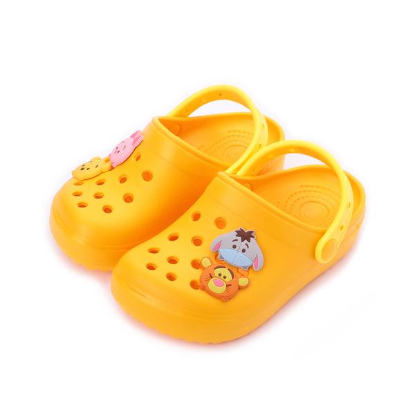 DISNEY Tsum Tsum 園丁鞋 黃 中大童鞋 鞋全家福