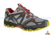 MERRELL 新竹皇家 GRASSBOW SPORT GORE-TEX 灰/紅黃 防水 運動鞋 高筒 男款 NO.A7150
