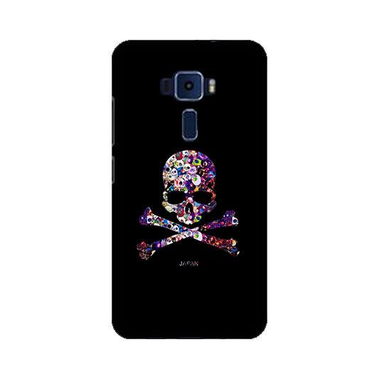 華碩 asus ZenFone3 ZE520KL Z017DA 手機殼 硬殼 黑暗骷髏