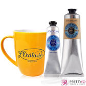 L'OCCITANE 歐舒丹 乳油木護手霜(150ml)買一送二組 贈30ML+品牌復古馬克杯-百貨公司貨【美麗購】