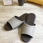 經典-紳士皮質室內拖鞋-紐曼卡其