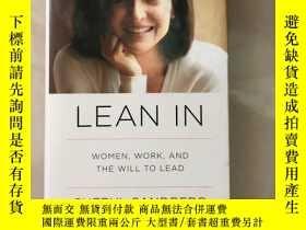 二手書博民逛書店Lean罕見inY402582 Sheryl Sandberg Alfred A. Knopf 出版2015