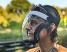 高清防霧Active Shield四代包邊運動透明全臉防護面罩騎行面罩 「快速出貨」