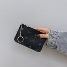 復古印花超薄拉鏈迷你小卡包軟錢夾