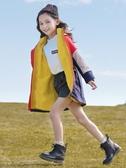 兒童外套 女童外套秋冬裝洋氣中大童兒童秋裝沖鋒衣三合一可拆卸女 全館免運