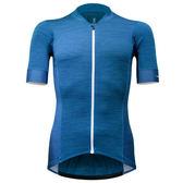 【亞特力士ATLAS】 男短袖車衣-條紋‧藍24℃~30℃ JF-132-BU
