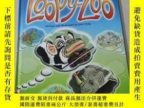 二手書博民逛書店THE罕見IMAGINARY WORLD OF LOOPY ZOO:瘋狂動物園的想象世界Y212829