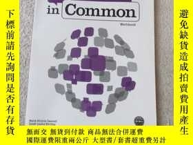 二手書博民逛書店English罕見in Common 4 WorkbookY21