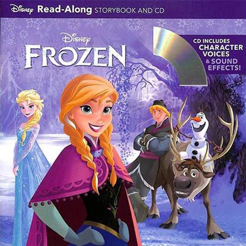 Frozen Read-Along Storybook And CD 冰雪奇緣 有聲讀本 (一平裝繪本+一CD)