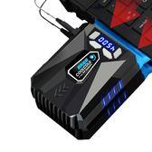 冰魔5筆電抽風式散熱器側吸式後吸聯想戴爾華碩手提電腦降溫外置風扇機15.6寸