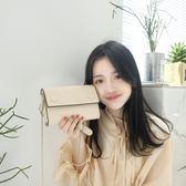 2018韓版新款百搭金屬鍊條斜挎女包包