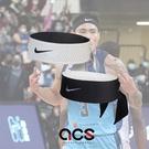 Nike 頭帶 Dri-Fit Head Tie 黑 灰 男女款 勾勾 雙面 快乾 吸汗 髮帶 運動休閒【ACS】 N100161308-5OS