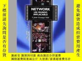 二手書博民逛書店Network,罕見un mundo implacable : Network, Sidney Lumet, 19