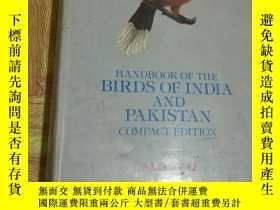 二手書博民逛書店HANDBOOK罕見OF THE BIRDS OF INDIA AND PAKISTAN 裏面有一百多張鳥彩圖
