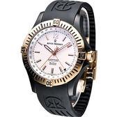 REVUE THOMMEN 梭曼空中霸王 機械腕錶-(16070.2882)玫瑰金色框