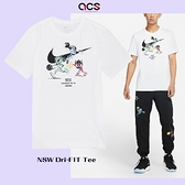 Nike 短袖 NSW Tee 白 彩 男款 短T 外星人 塗鴉 大勾 運動休閒【ACS】 DO9156-100