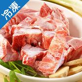 台灣冷凍豬龍骨600G/盒【愛買冷凍】