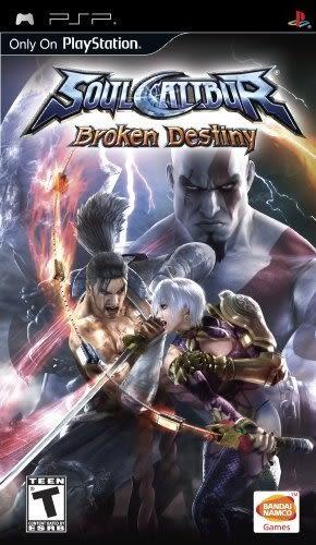 PSP SoulCalibur: Broken Destiny 劍魂:破碎的命運(美版代購)