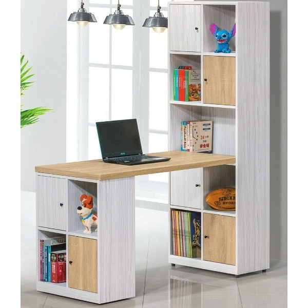 書桌 電腦桌 PK-441-4 路易士多功能L型書桌櫃 (不含其它產品)【大眾家居舘】