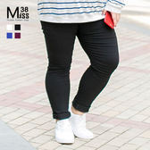 Miss38-(現貨)【A6697】熱銷爆款 大尺碼小腳褲 黑褲 超彈力 顯瘦百搭 內搭長褲(升級版)- 大尺碼女裝