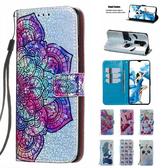 小米 紅米Note8 Pro 閃片皮套 手機皮套 插卡 支架 掀蓋殼 皮套 保護套 可掛繩