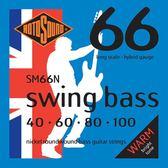 小叮噹的店 英國ROTOSOUND SM66N (40-100) 電貝斯弦 Nickel 旋弦公司貨