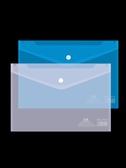 50個裝文件袋透明A4文件夾按扣袋塑料資料檔案袋收納