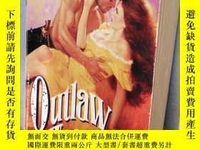 二手書博民逛書店Outlaw罕見HeartY201150 Samantha Ja