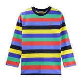『小鱷魚童裝』彩色條紋T恤(08號~18號)532405