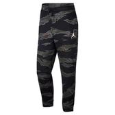 Nike 長褲 Jordan Jumpman Camo Fleece Trousers 黑 迷彩 棉褲 男款 【PUMP306】 AV2317-010