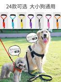 狗狗牽引繩狗鏈子遛狗繩項圈貓繩小型犬中型大型泰迪金毛寵物用品『小淇嚴選』