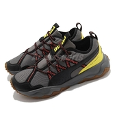 Puma 越野跑鞋 Ember TRL 灰 黑 黃 戶外風格 Trail 男鞋 運動鞋【ACS】 19313004