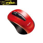 T.C.STAR 連鈺 TCN635RD 無線藍光滑鼠 (紅)