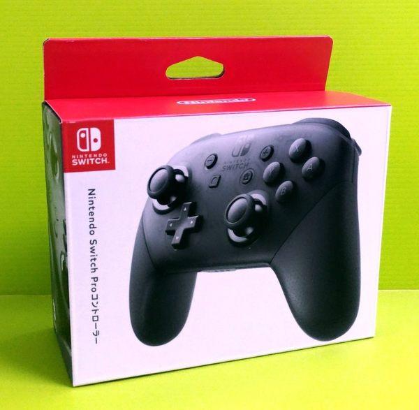 (公司貨) 任天堂 Nintendo Switch PRO 控制器 黑色