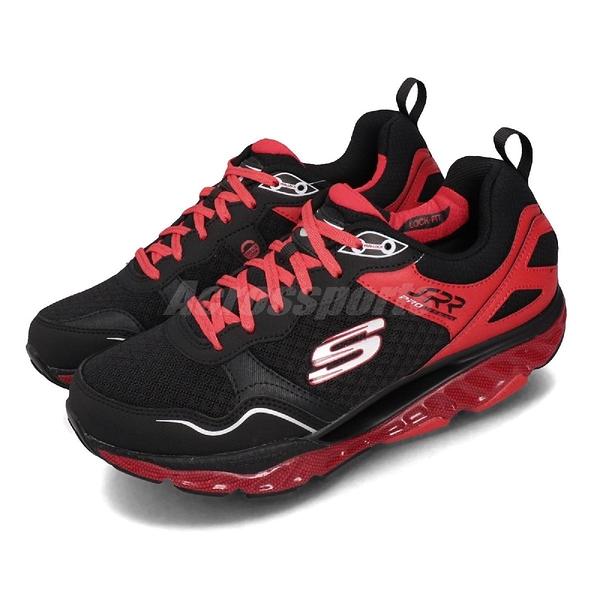 Skechers 慢跑鞋 SRR Pro-Resistance-Runaway 黑 紅 男鞋 運動鞋 【PUMP306】 999124BKRD