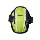 Asics 臂套 Arm Bag 綠 黑 男女款 健身房 慢跑 臂袋 收納 反光【ACS】 Y1140473