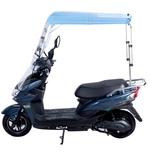 電動摩托車擋雨棚新款電瓶車防曬擋風罩雨篷新款加厚遮陽雨傘 ATF 魔法鞋櫃