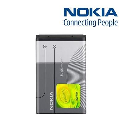 【YUI】NOKIA BL-5C BL5C 原廠電池 3100 3109 3110 3125 3610F 3650 5030 5130XM 原廠電池 1020mAh