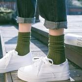堆堆襪長襪薄款韓國春秋季個性百搭襪子女中筒襪潮秋冬韓版學院風