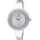 SWAROVSKI施華洛世奇Crystal Rose璀璨時尚錶 5483853 銀色