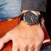 FOSSIL The Minimalist 低調黑金真皮腕錶 FS5376 熱賣中!