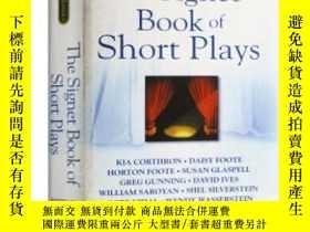 二手書博民逛書店The罕見Signet Book of Short Plays 英文原版書 美國短篇戲劇集 田納西威廉斯霍頓福特