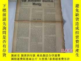 二手書博民逛書店外文原版報紙罕見THE MANCHESTER GUARDIAN WEEKLY 1948年2月12日 第7期 共16