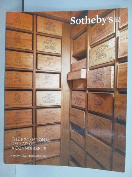 【書寶二手書T5/收藏_PLB】Sotheby s_The Exceptional Cellat…2015/12/16-