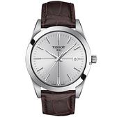 TISSOT天梭 紳士石英手錶-40mm T1274101603101
