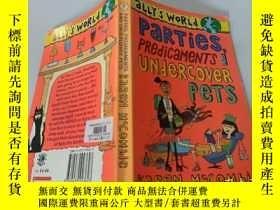 二手書博民逛書店parties罕見predicaments and undercover pets: 派對困境與臥底寵物Y20